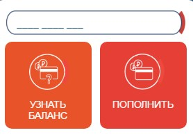 Форма пополнения карты Стрелка на официальном сайте